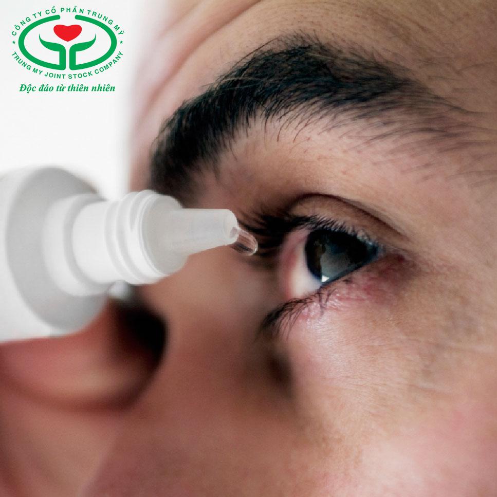 Thuốc nhỏ mắt được quy định cho bệnh nhân bị Glocom